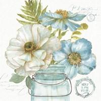 My Greenhouse Bouquet II Fine Art Print