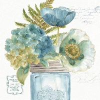 My Greenhouse Bouquet III Fine Art Print