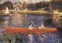 La Seina a Asniers by Pierre-Auguste Renoir - various sizes