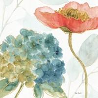 Rainbow Seeds Flowers IV Fine Art Print