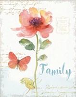 Rainbow Seeds Floral IX Family Fine Art Print