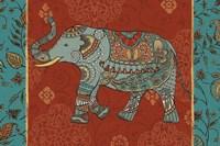 Elephant Caravan IIM Framed Print