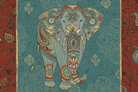 Elephant Caravan IB Fine Art Print