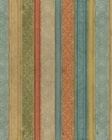 Tribal Dots Color Pattern Fine Art Print