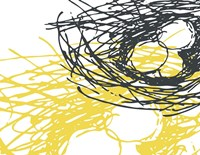 Brighter Nest White Fine Art Print