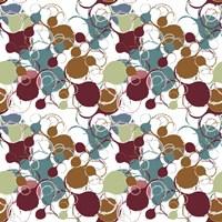 Funky Circles I Pattern Fine Art Print