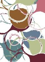 Funky Circles I Fine Art Print