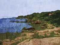 Rocky Shore Fine Art Print