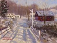 Coming Into Winter Fine Art Print
