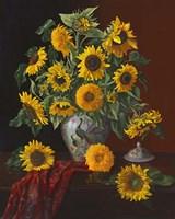 Sunny Elegance Fine Art Print