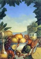 Mediteranean Still Life Fine Art Print