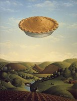 Pie In The Sky Fine Art Print