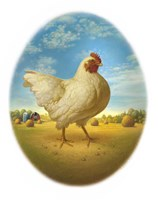 Smaller Promo Chicken - Egg Fine Art Print