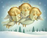 Angel Choir Fine Art Print