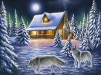 Nighttime Prowl Fine Art Print