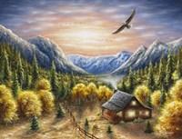 Mountainous Dreams Fine Art Print