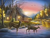 River's Crossing Fine Art Print