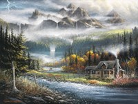 Paradise Valley Fine Art Print