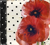 Scarlet Poppies I Fine Art Print