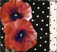 Scarlet Poppies II Fine Art Print