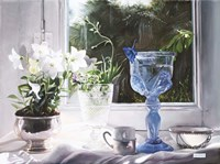 Il Calice Blu Fine Art Print