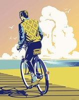 Beach Bike Fine Art Print