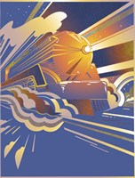 Bullet Train Fine Art Print