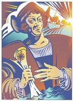 Christopher Columbus Fine Art Print