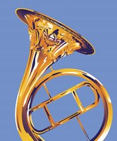 French Horn 8 Fine Art Print