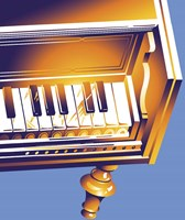 Old Piano Fine Art Print
