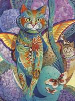 Feline Fiesta Fine Art Print