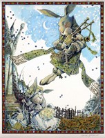 Star Piper Fine Art Print