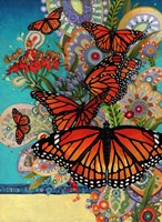 Monarch Madness Fine Art Print