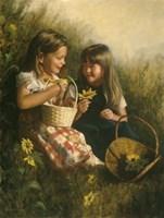 Flowers Of Summer Fine Art Print