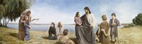 Jesus With Children Fine Art Print