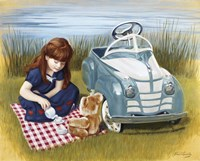 1938 Steelcraft Oldsmobile Fine Art Print