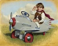 1941 Steelcraft Pursuit Plane Fine Art Print