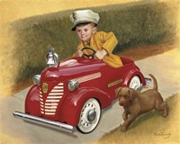 1937 Garton Ford Fire Chief Fine Art Print
