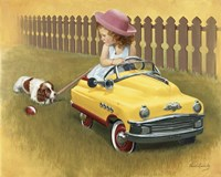 1948 Murray Roadmaster Fine Art Print