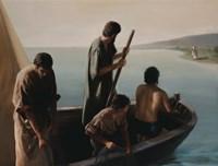 Christ Calling To Disciples Fine Art Print