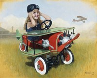 1926 Steelcraft By-Plane Fine Art Print