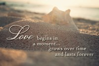 Love Begins in a Moment Fine Art Print
