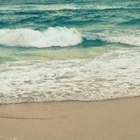 Teal Waves I Fine Art Print