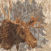 Lodge Moose Fine Art Print