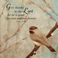 Give Thanks Fine Art Print