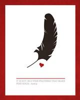 Fine Feathers Fine Art Print