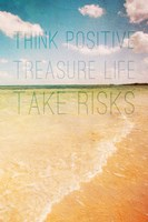Think Positive Fine Art Print