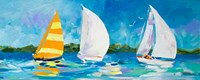 The Regatta II Fine Art Print