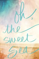 Oh the Sweet Sea Fine Art Print