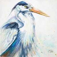 New Blue Heron I Fine Art Print